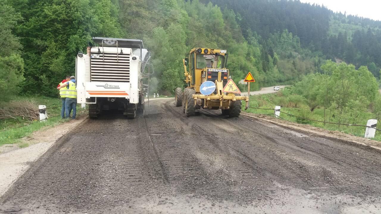 Розпочався капітальний ремонт автодороги від Східницького перевалу до Підбужа